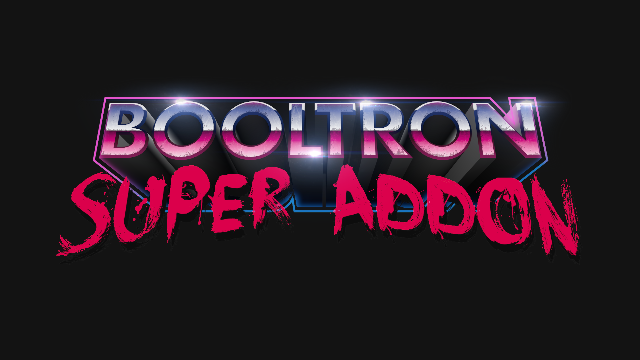Видео Booltron — Super Add-on